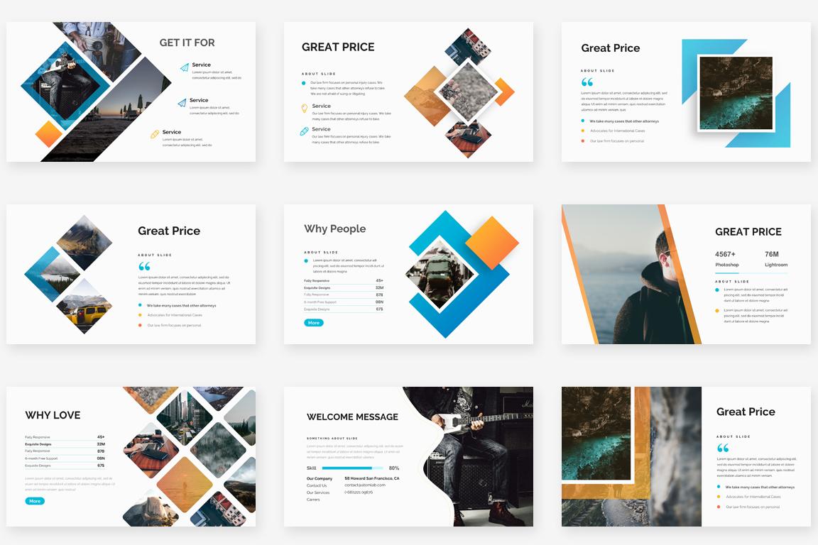 Mongo Multipurpose Powerpoint Template example image 8