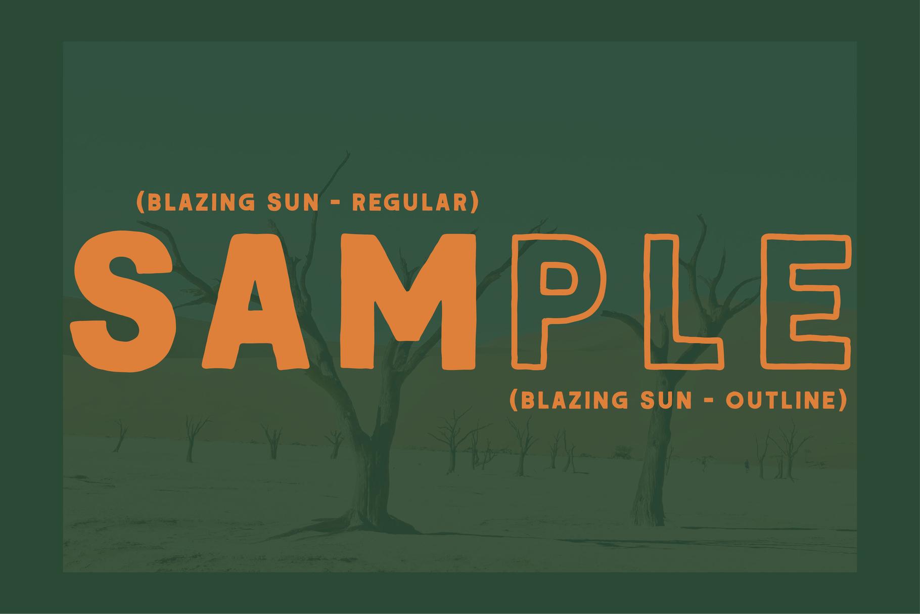 BLAZING SUN example image 3