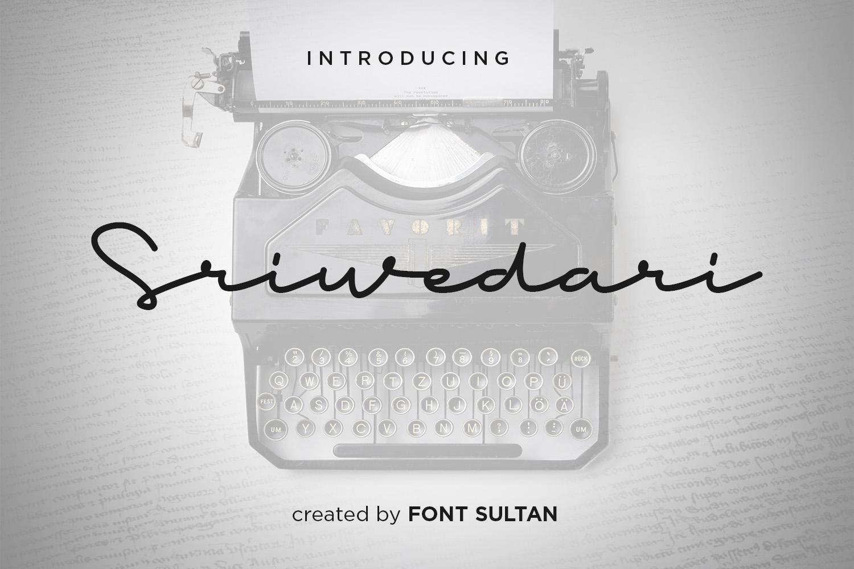 Sriwedari Signature Script example image 1
