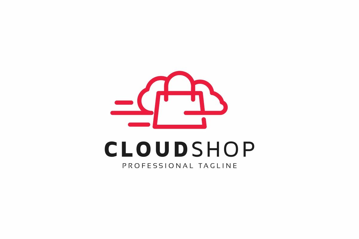 Cloud Shop Logo example image 1