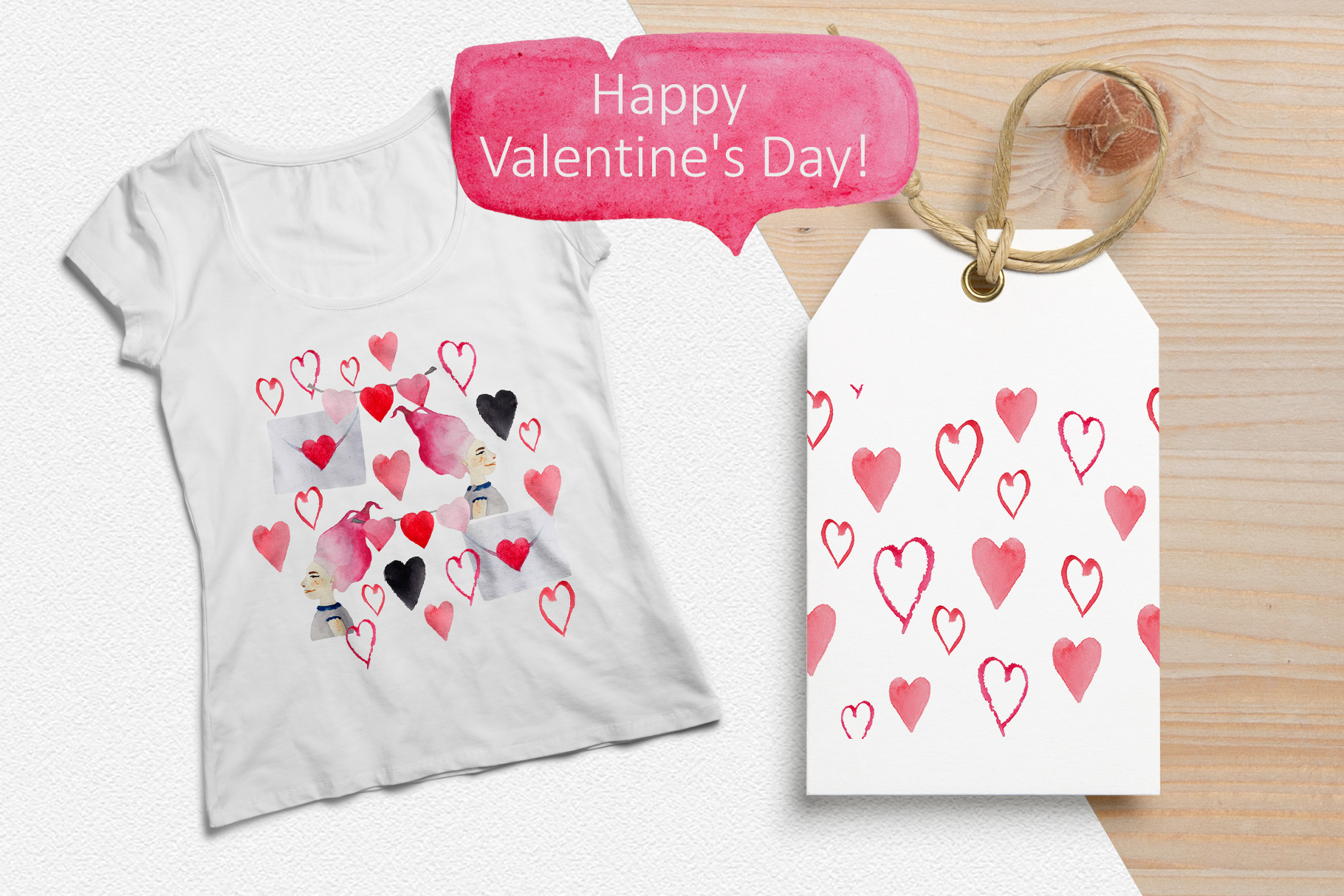 Romantic patterns example image 4