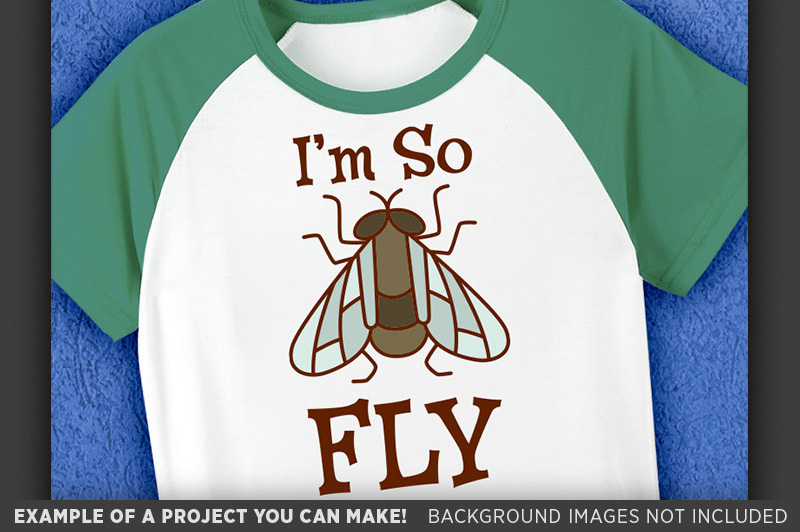 I'm So Fly Svg File - Cute Kids Shirt Svg - 1089 example image 3