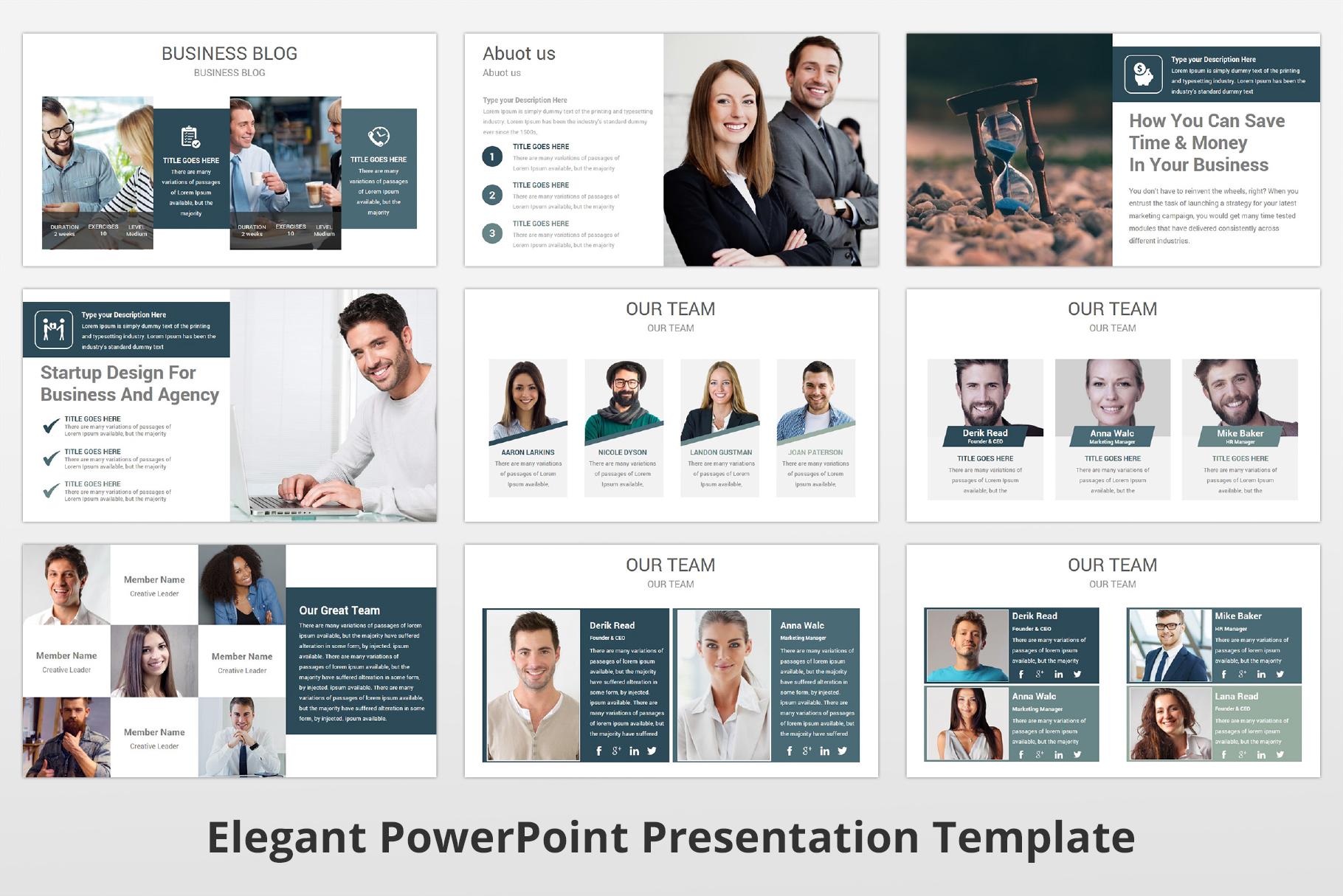 Elegant multipurpose PowerPoint Presentation Template example image 7