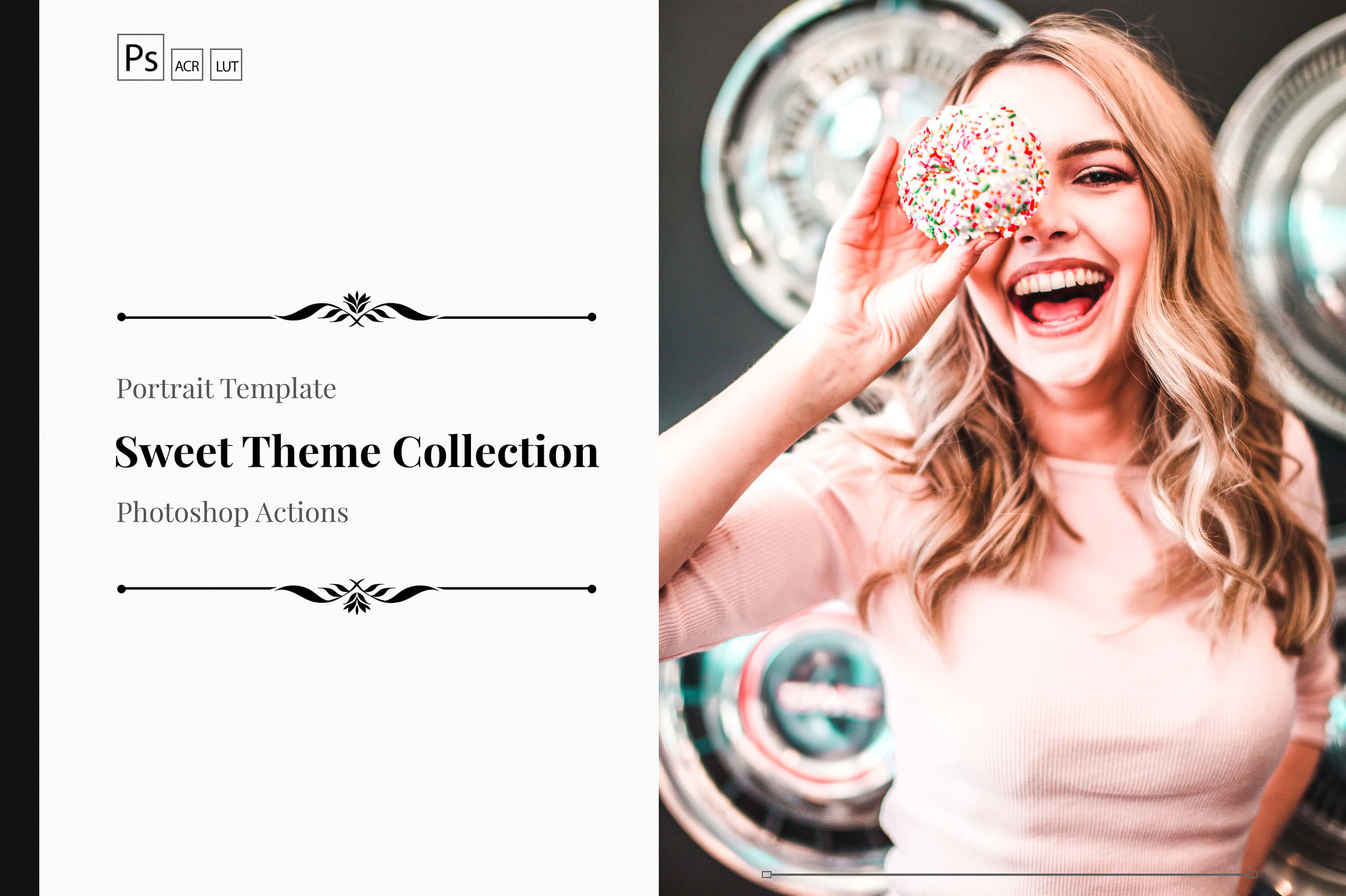Neo Sweet Color Grading photoshop actions example image 1