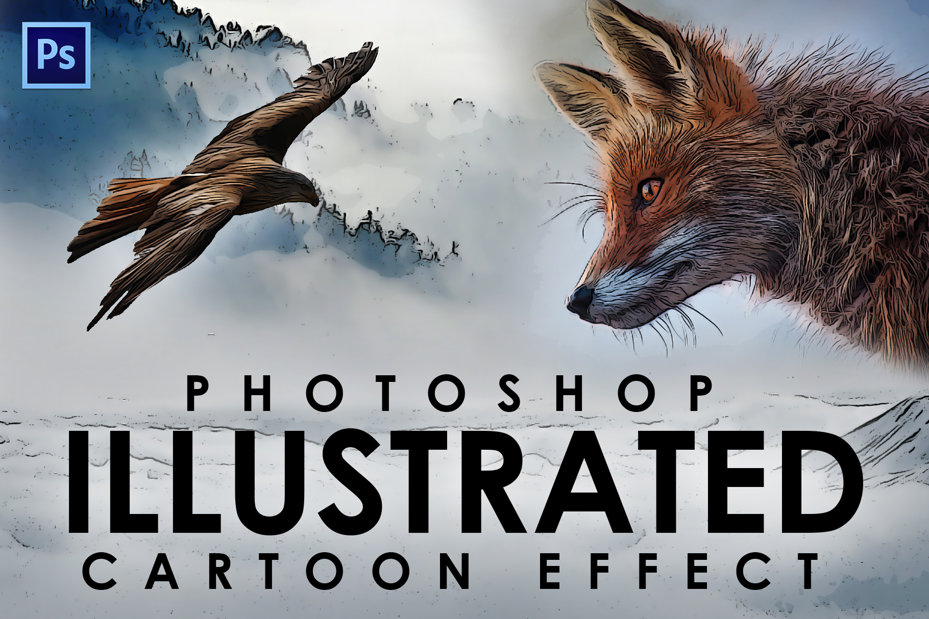 Easy Cartoon Illustration Effect example image 1