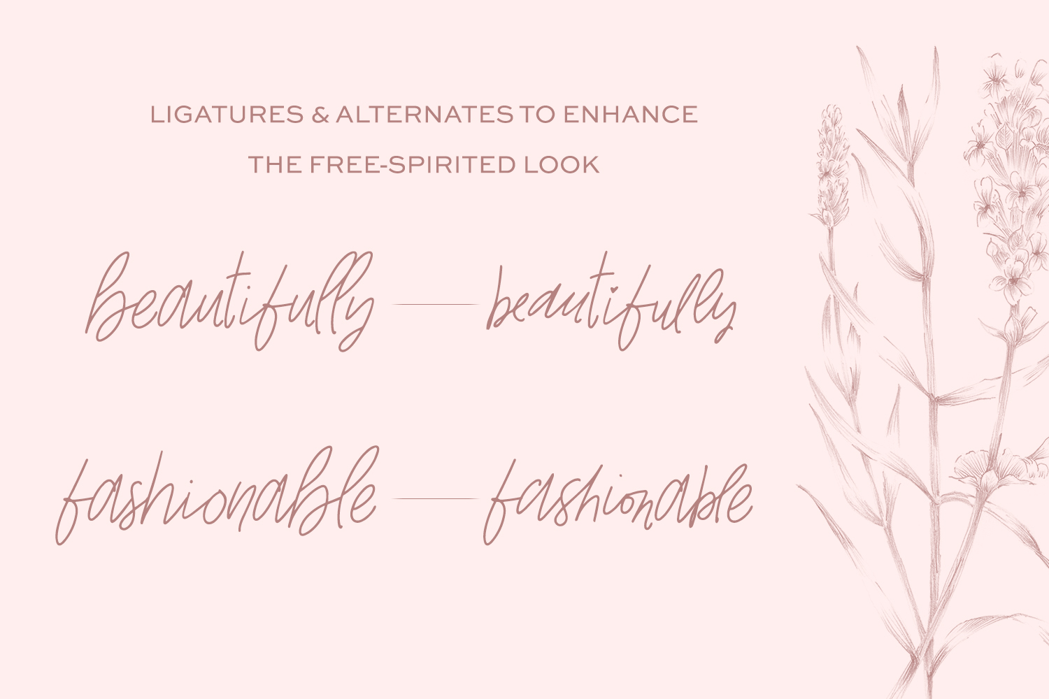 The Signature Font Bundle by Beck McCormick example image 4