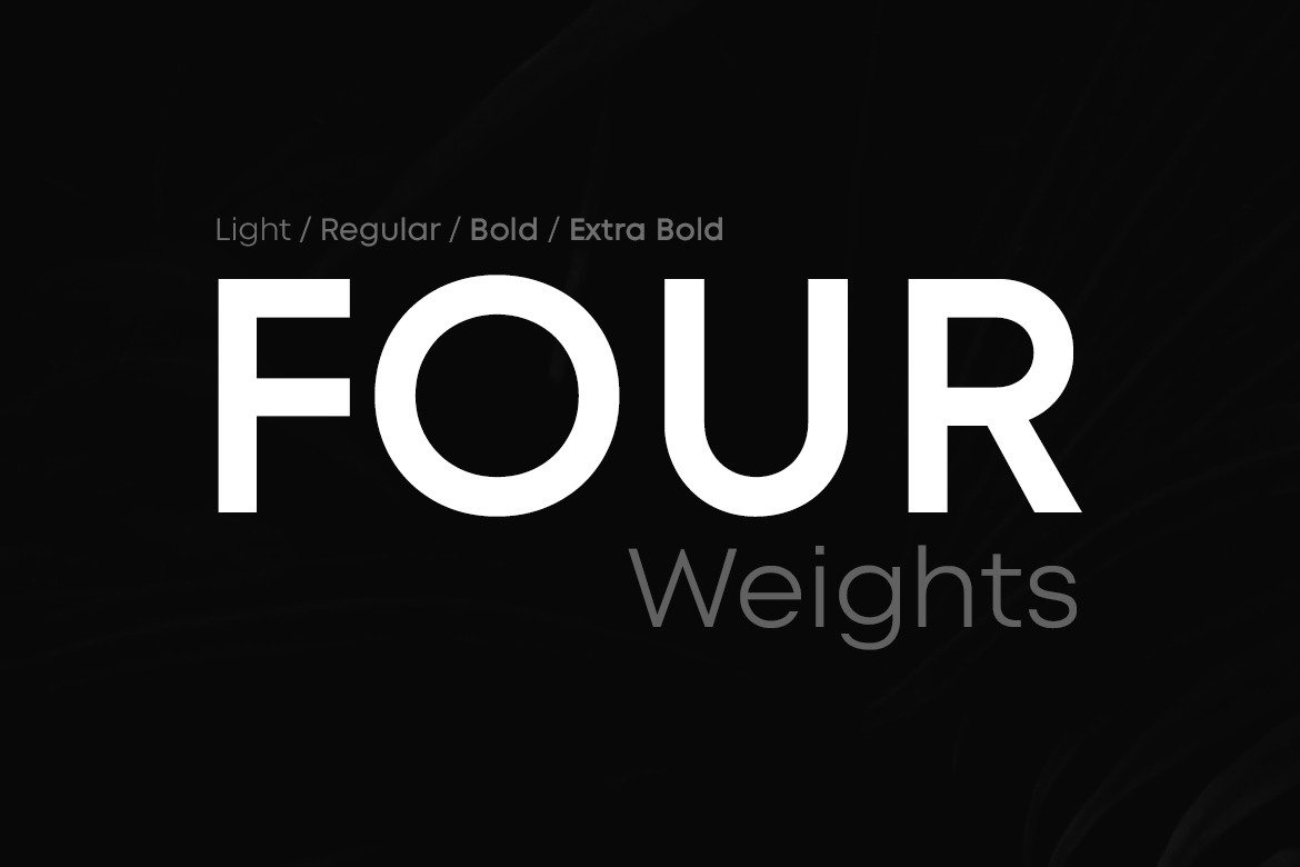 LORIN - Geometric Typeface & Web Fonts example image 3