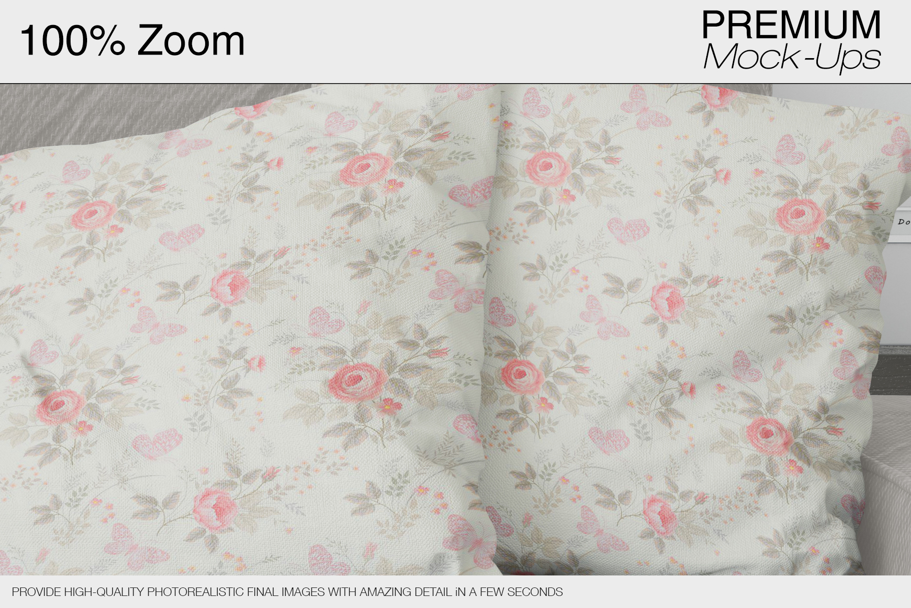 Pillows & Frames Mockup Set example image 6