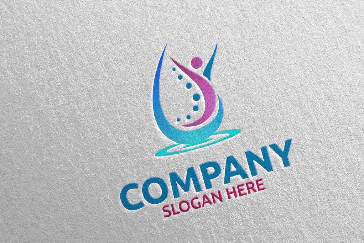Massage Logo Design 11 example image 2