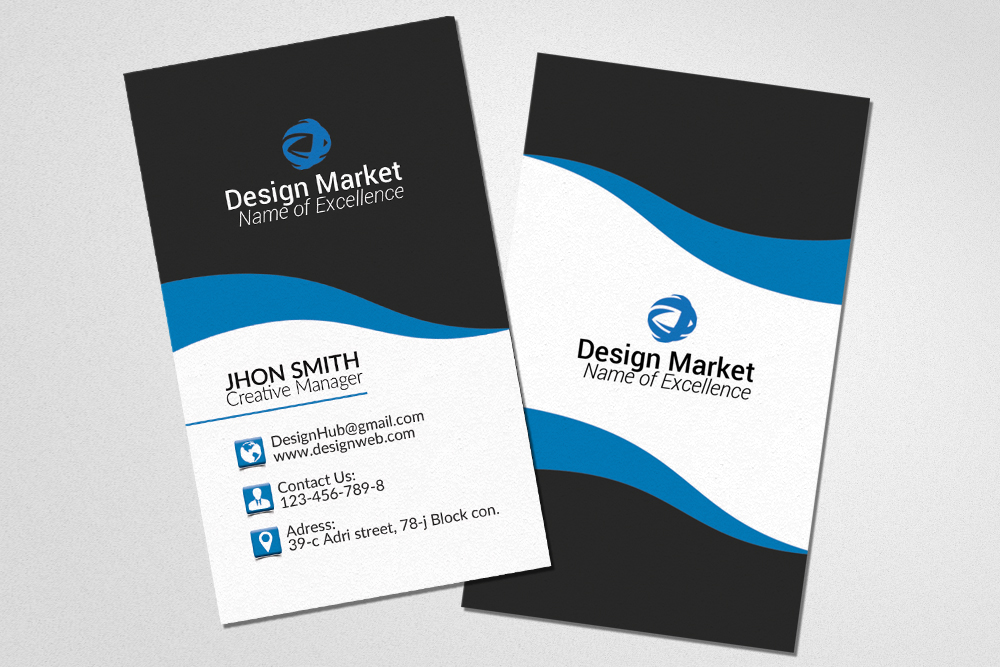 Business Cards Print Template example image 3