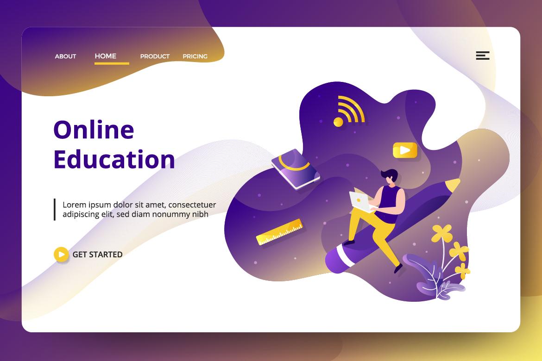 Education Online Vol 2 sets Illustration example image 2