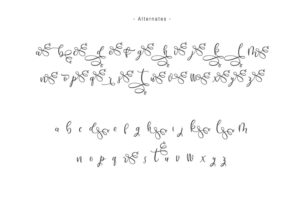 Hello Bunda Typeface example image 4