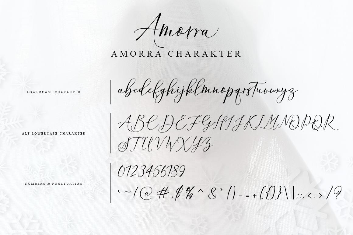 Amorra Script example image 10
