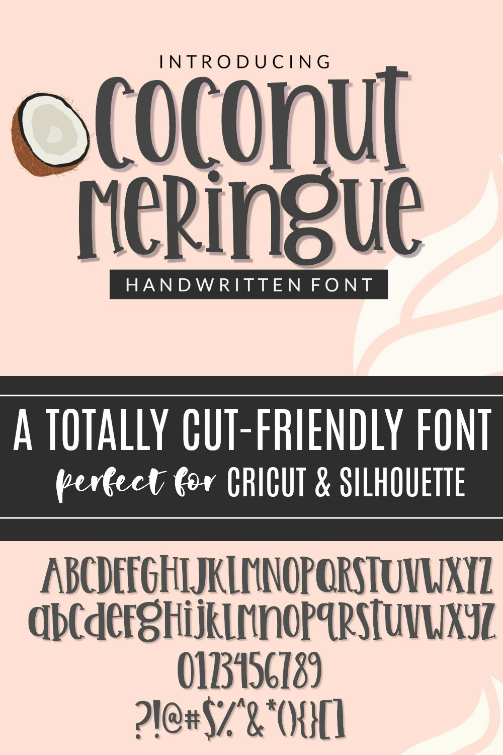 Coconut Meringue- Handwritten Font for Crafters TTF & OTF example image 8
