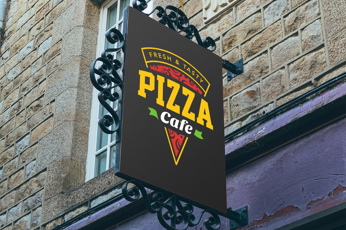 Pizza Logo Templates example image 7