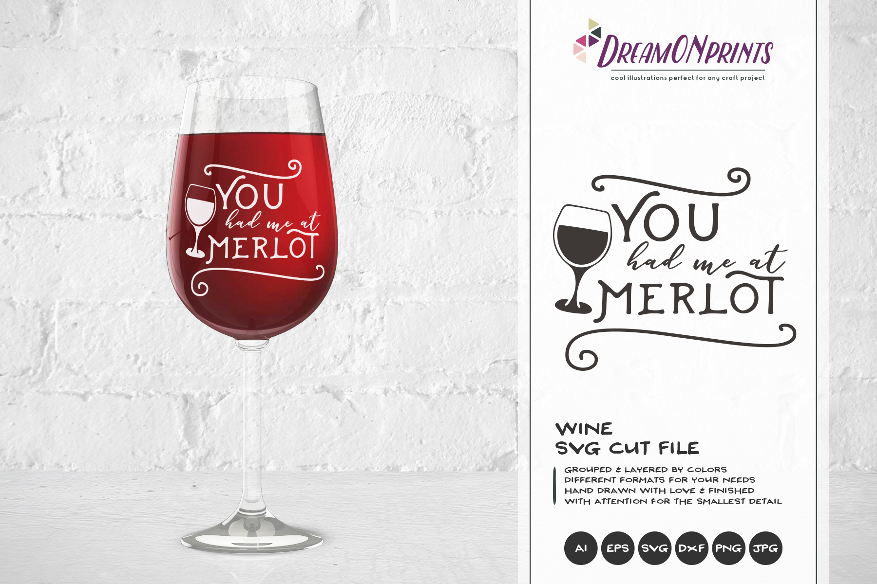 Wine and Cheese SVG BUNDLE - Bundle SVG Cut Files example image 9