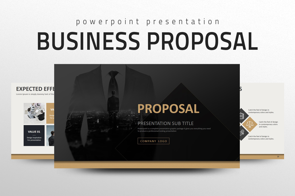 Business Strategy PowerPoint Template example image 1