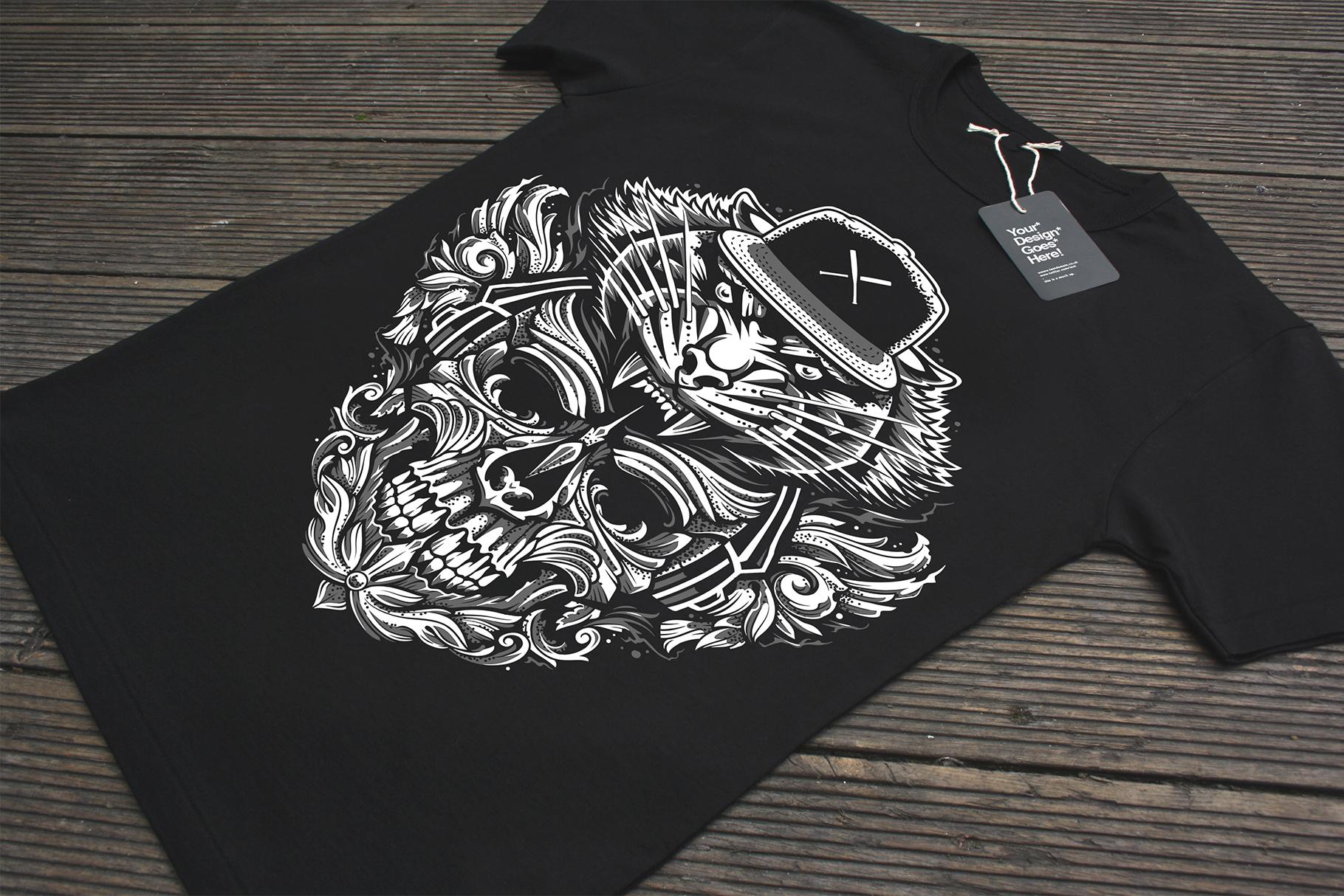 Brutal Musical Print Design | Vector example image 6