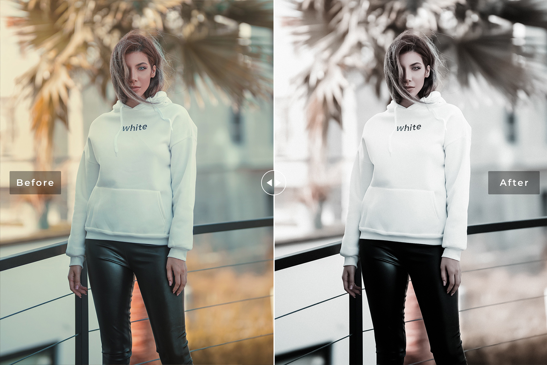 Silver Mobile & Desktop Lightroom Presets example image 6