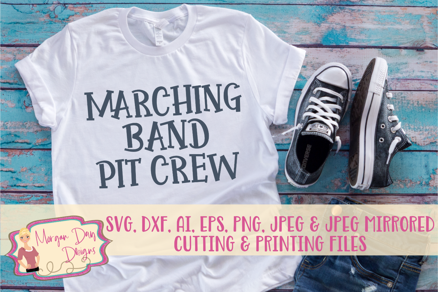 Marching Band Pit Crew SVG, DXF, AI, EPS, PNG, JPEG example image 1
