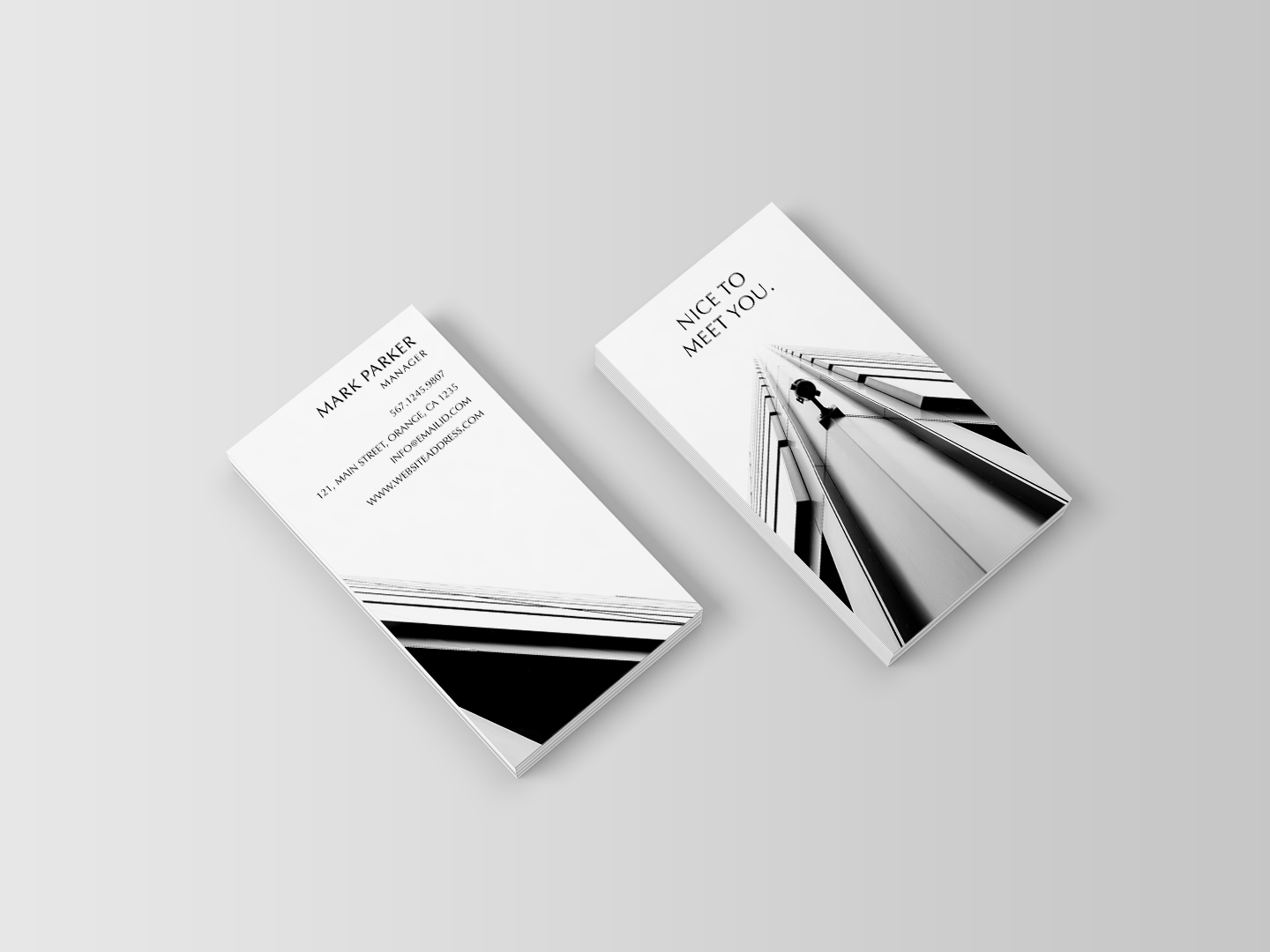 Beautiful Professional Business Card example image 2