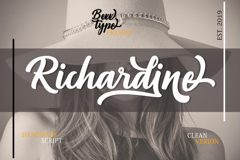 Richardine Script example image 1