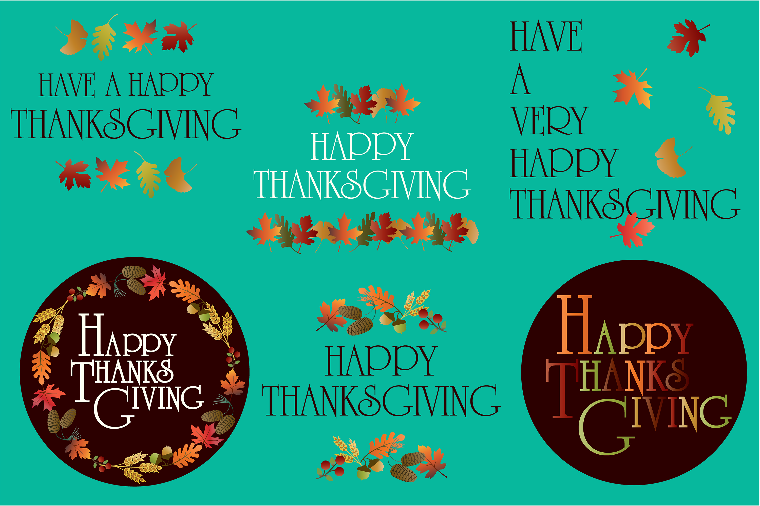 Thanksgiving Graphics example image 3