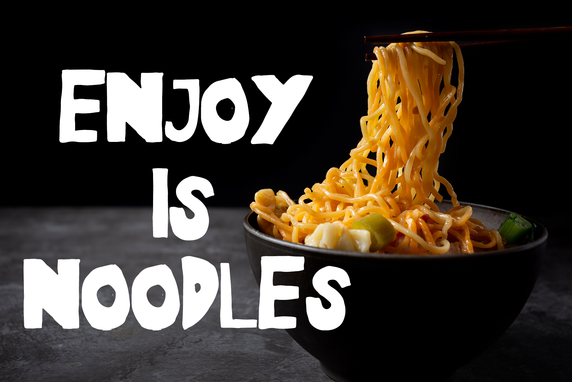 Noodles - Fun Font example image 2
