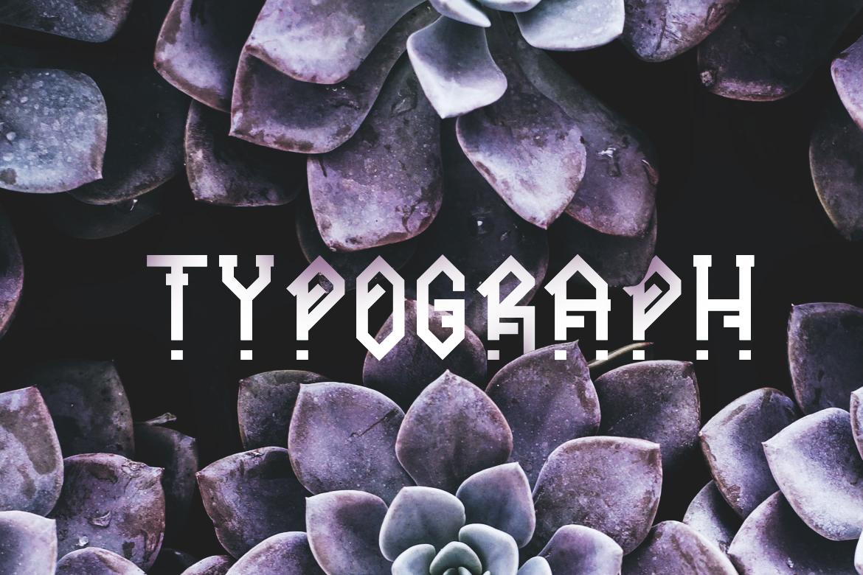Ornacle - Futuristic Font example image 5