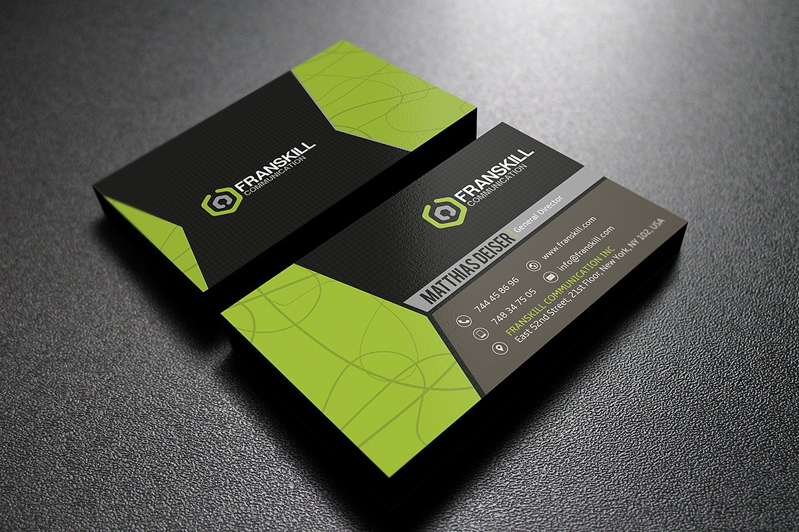 Modern Business Card example image 3