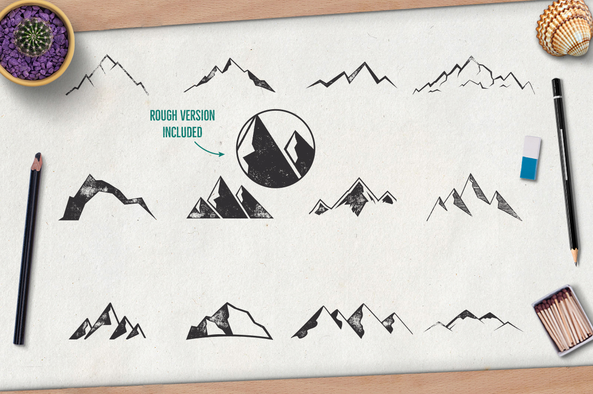 Mountain Shapes Vol.2 example image 3