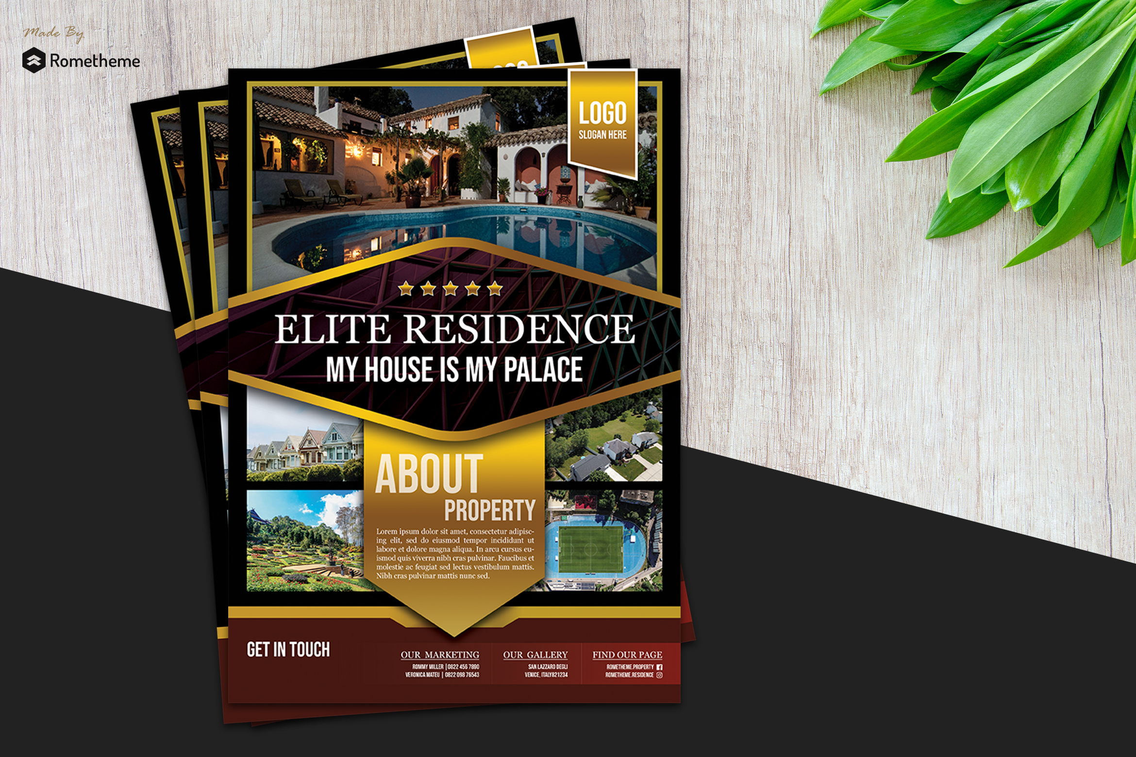 Real Estate Flyer vol. 01 example image 1