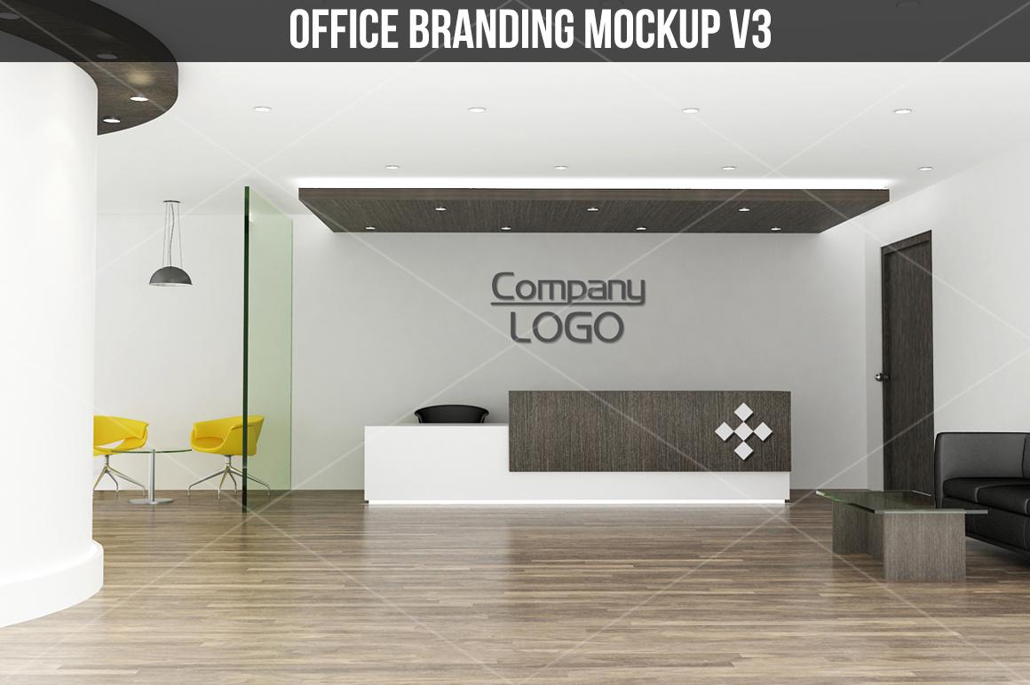 Office branding Mockup v3 example image 1