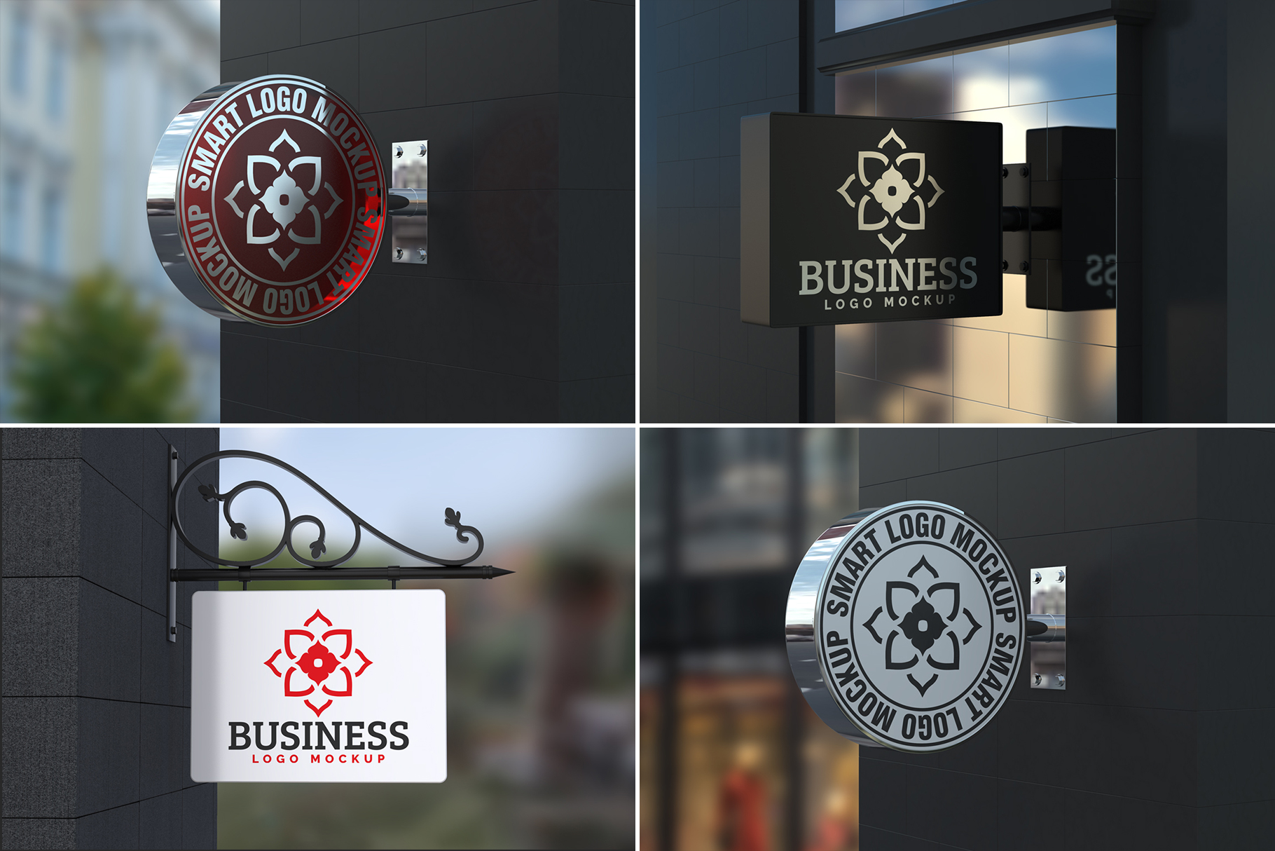 100 Logo Mockups Bundle Vol.3 example image 6