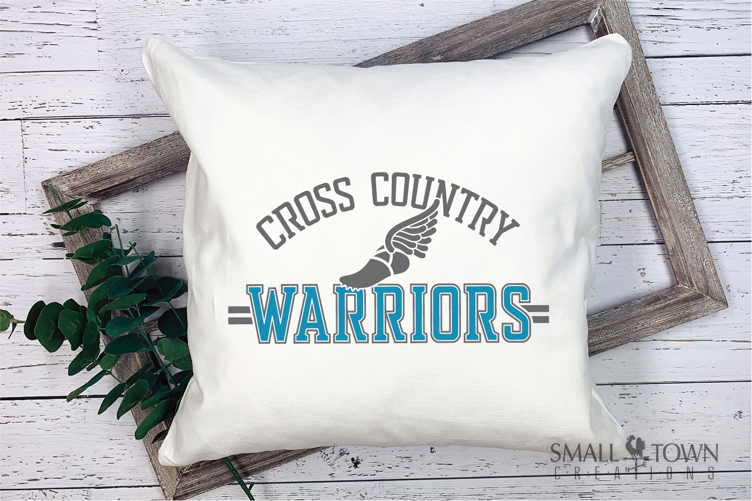 Warrior Cross Country, Sports, Logo, PRINT, CUT & DESIGN example image 3