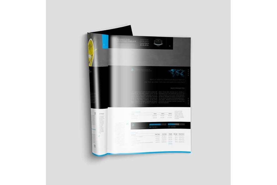 Business Plan A4 20 Pages Template example image 4