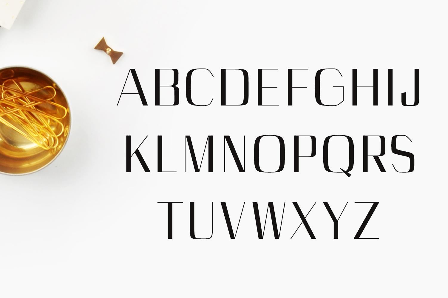Cason Sans Serif Typeface example image 2