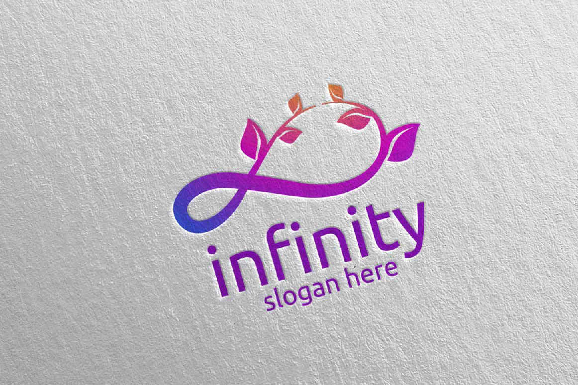Green Infinity loop logo Design 33 example image 3