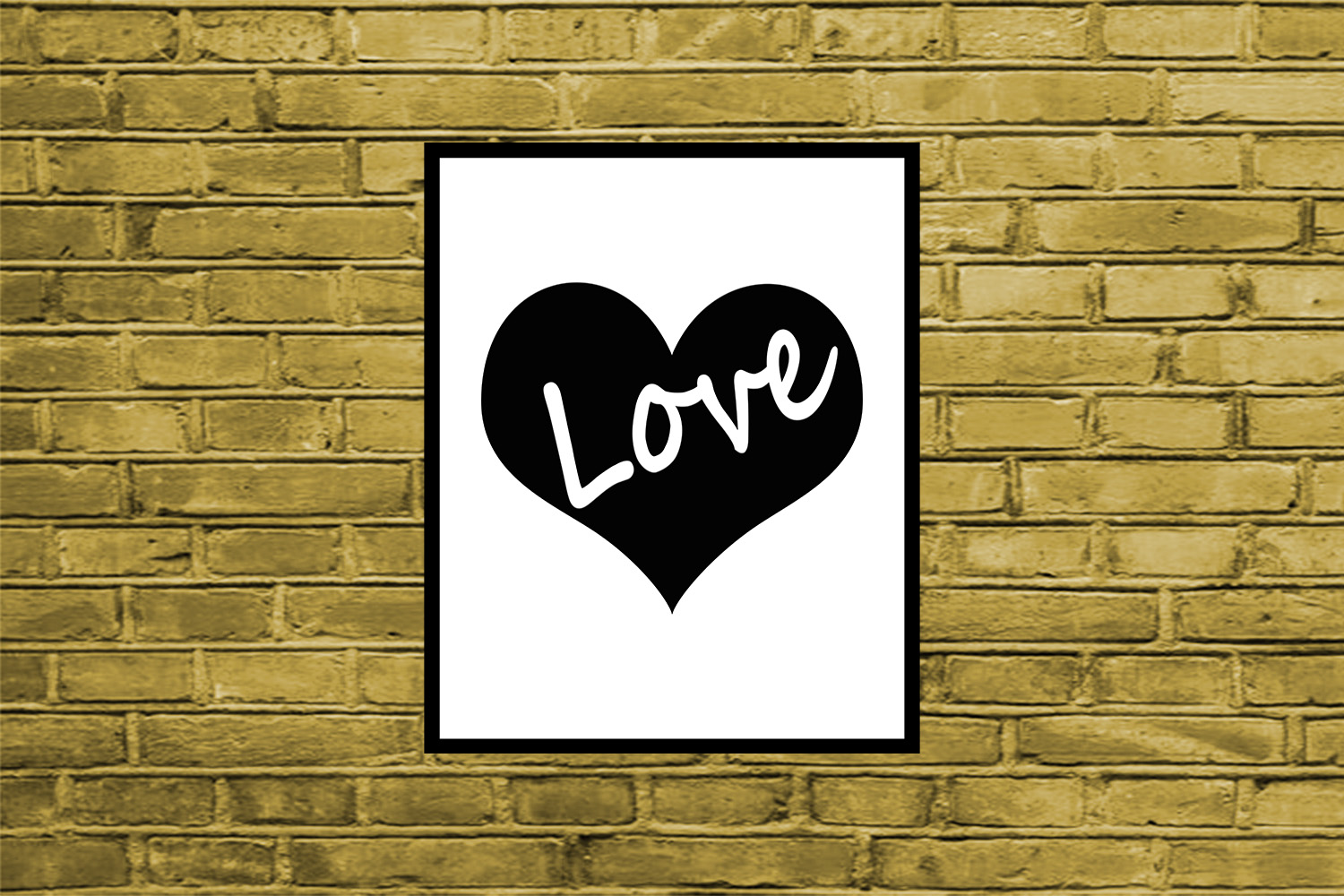 Heart Print, Love Quote Print,Love Print,Heart Poster, OFF50 example image 2