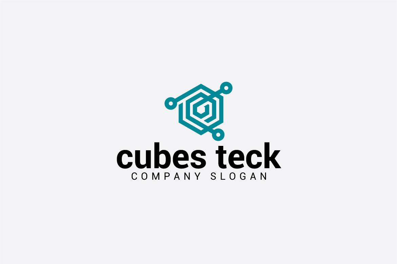 cubes teck logo example image 3