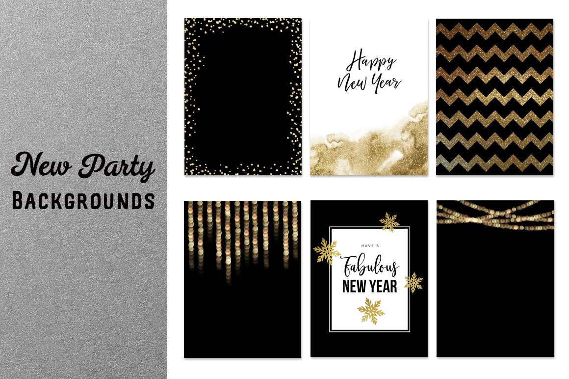 New Year's  party set example image 8
