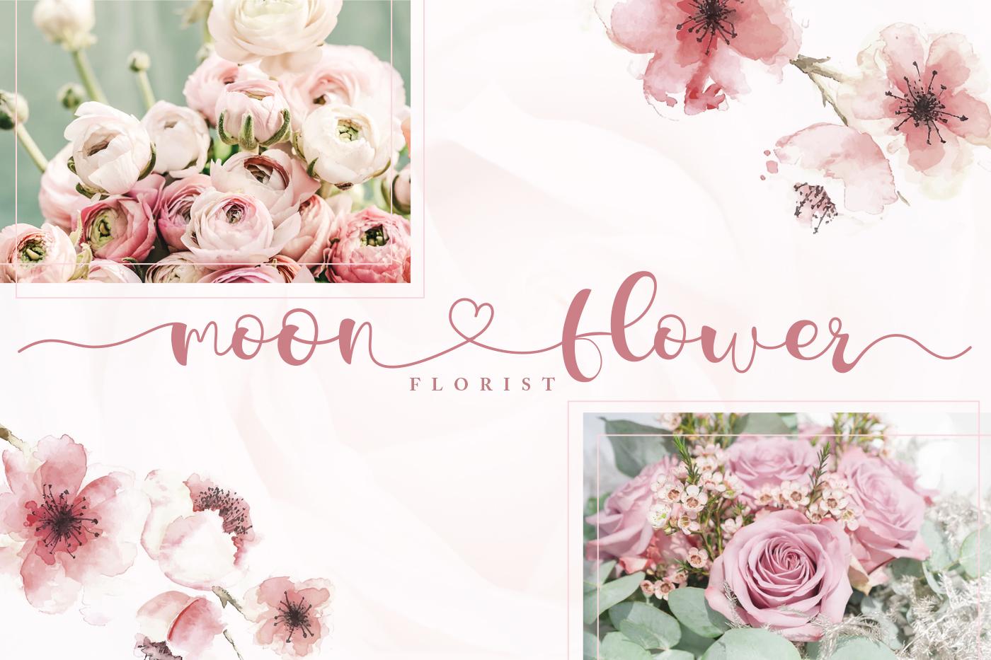 Lorden Holen Lovely Script example image 4