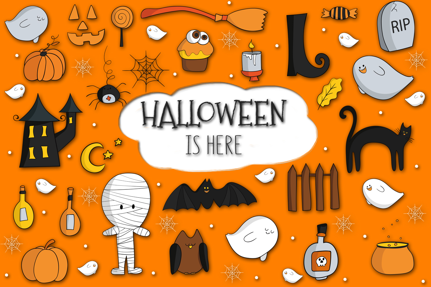 Halloween is Here example image 1