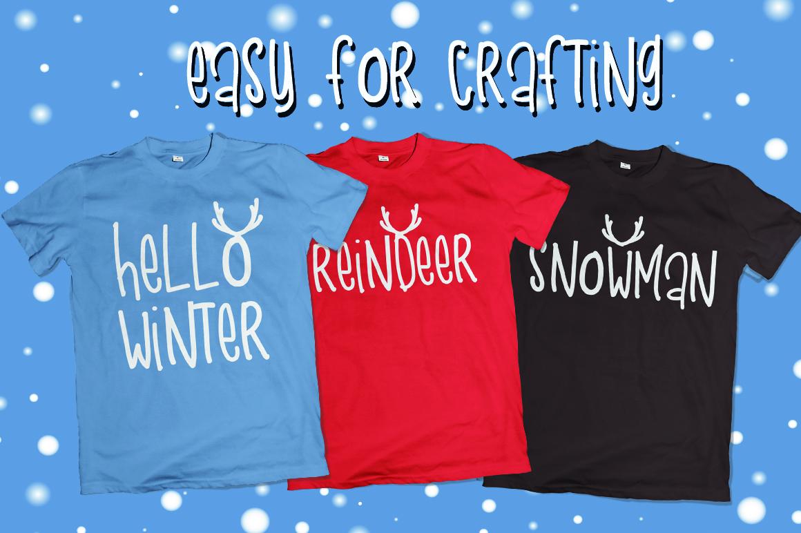 Snow Deer example image 2