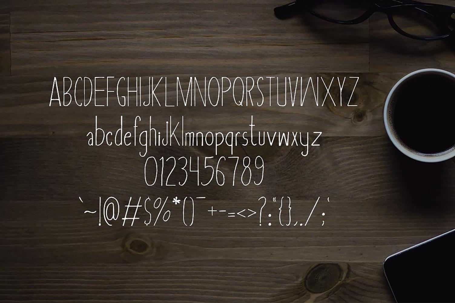 Asbah Serif Font example image 2