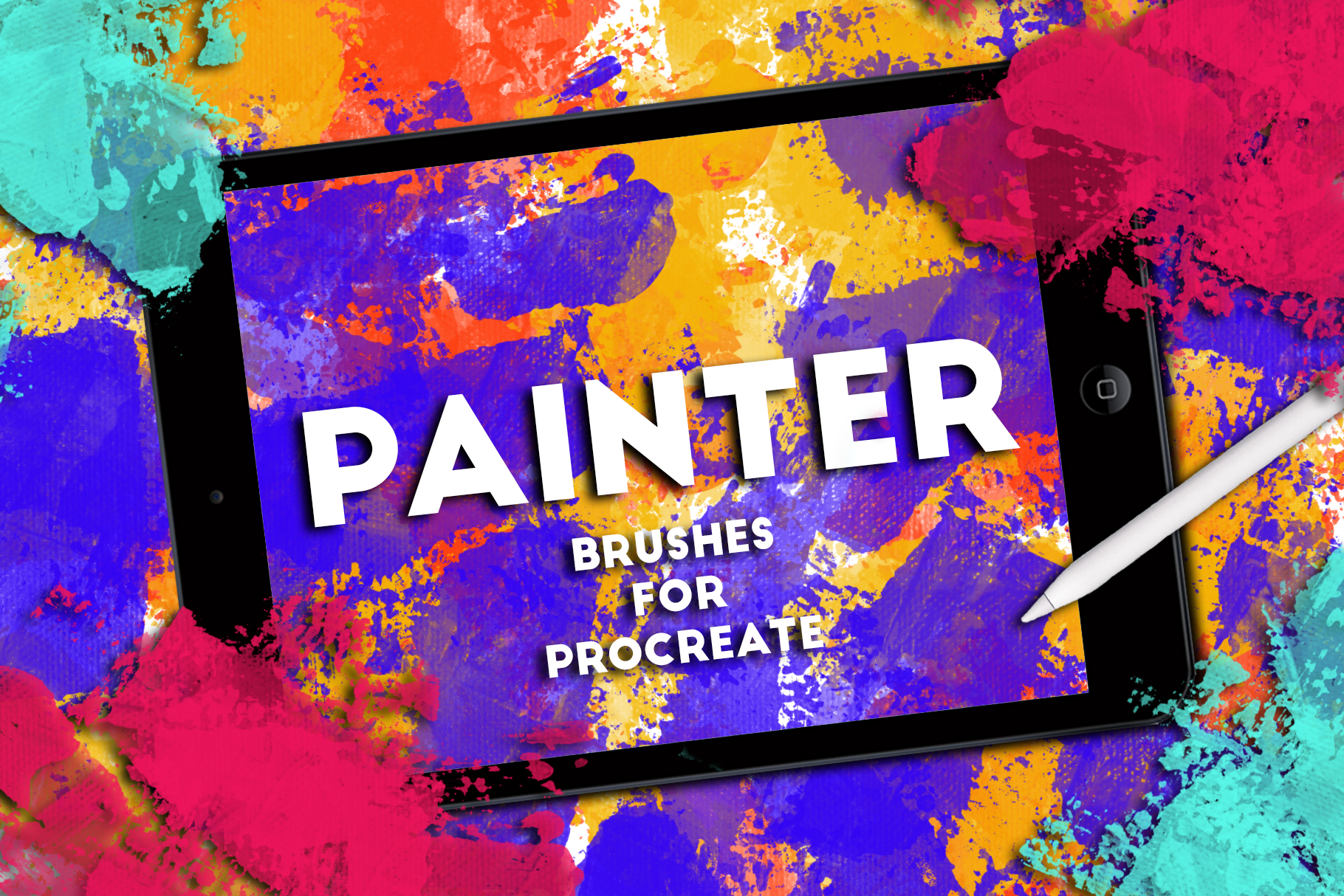 PAINTER BRUSHES FOR PROCREATE example image 1