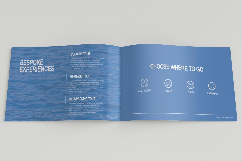 Travel Agency Printable Catalogue - A5-26 PSD Templates example image 6