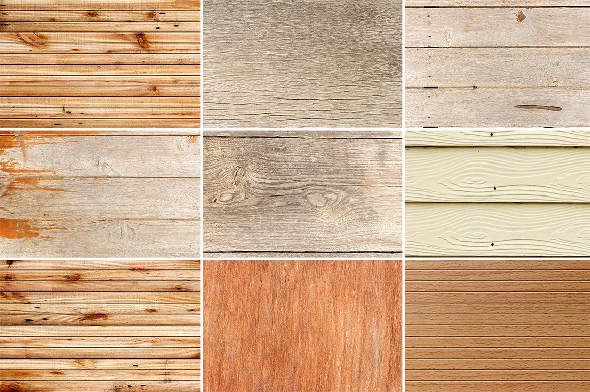 50 Wood Texture Background Set 2 example image 5