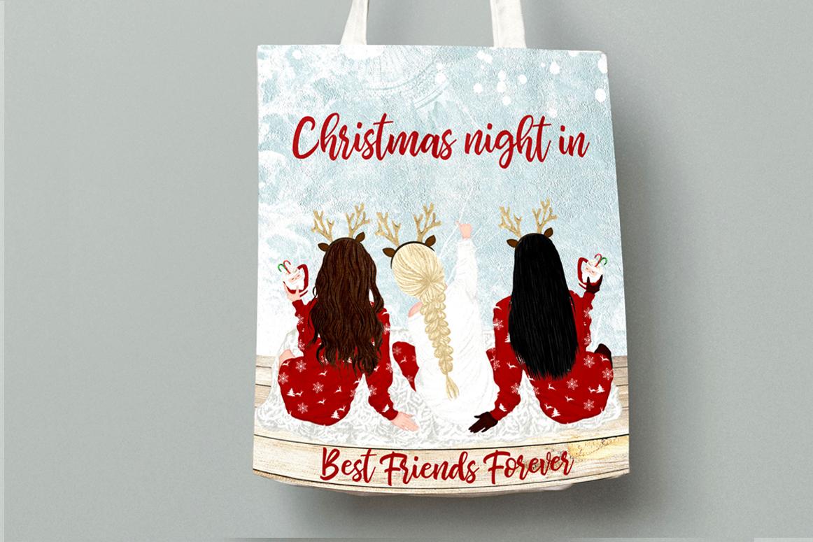 Christmas clipart, Girls Clipart, Planner Girls,Custom Girls example image 5