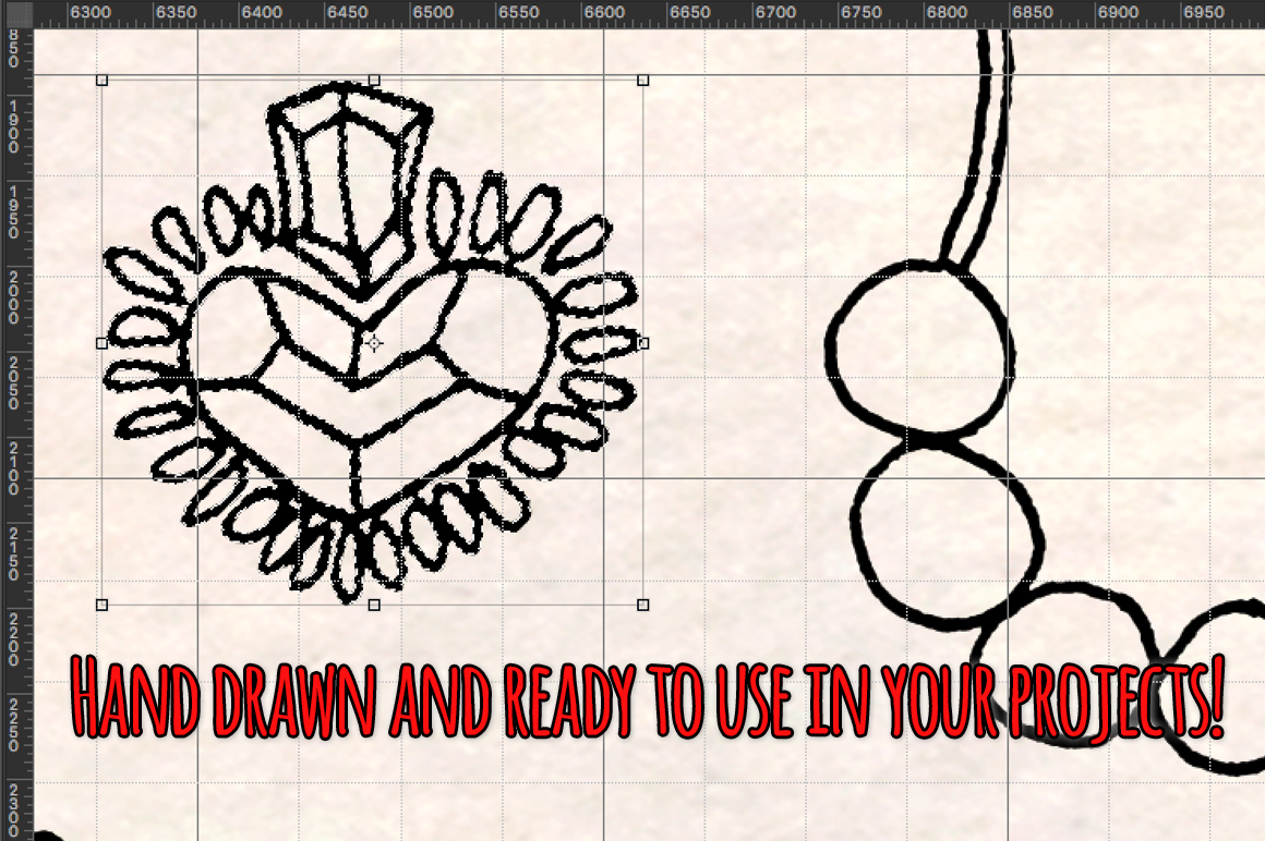 40 Jewelry and Craft Making Hand Drawn Graphics Bundle example image 3